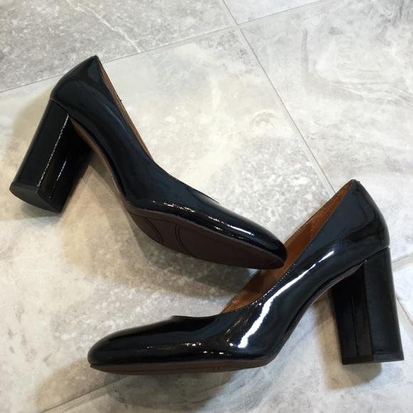 771793424de Franco Sarto Shoes - SARTO Franco Sarto Aziza Patent Block Heel Pumps
